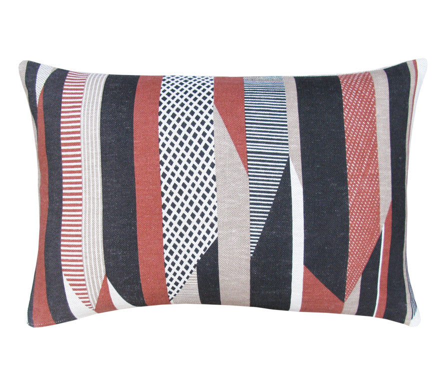 Textured Stripe: Large Cushion