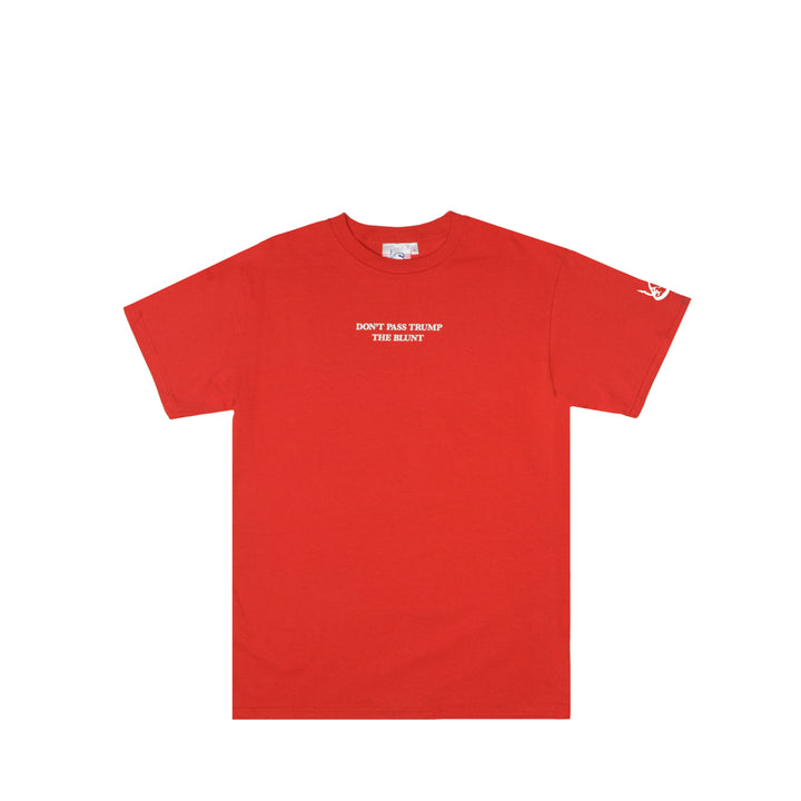 Don't Pass Trump The Blunt T-Shirt (Red)