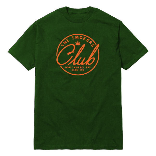 Green & Orange Logo Tee