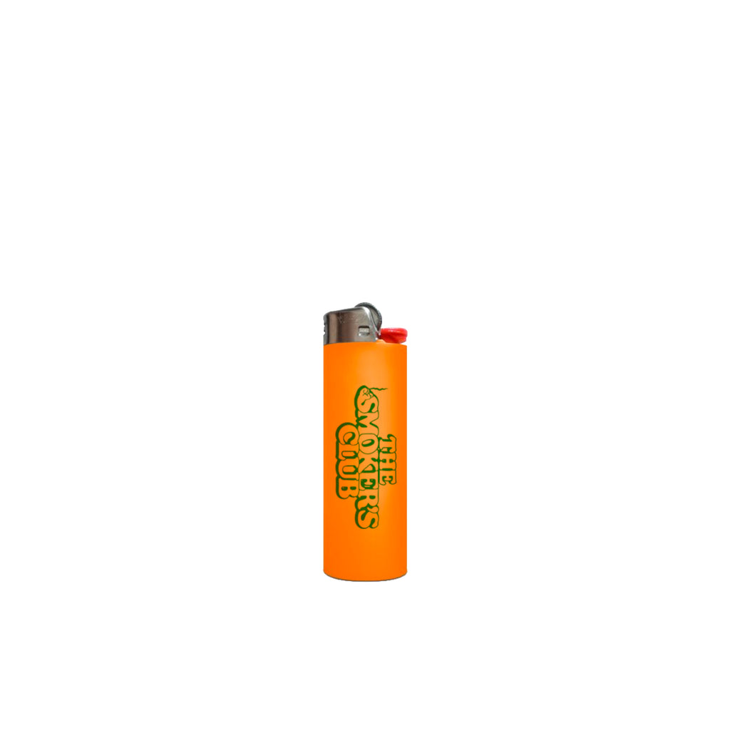 Smokers Club Logo BIC Lighter