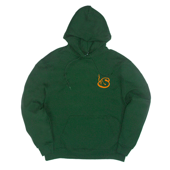 Green Smokers Club Logo Hoodie