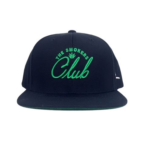 The Smokers Club Green Logo Snapback