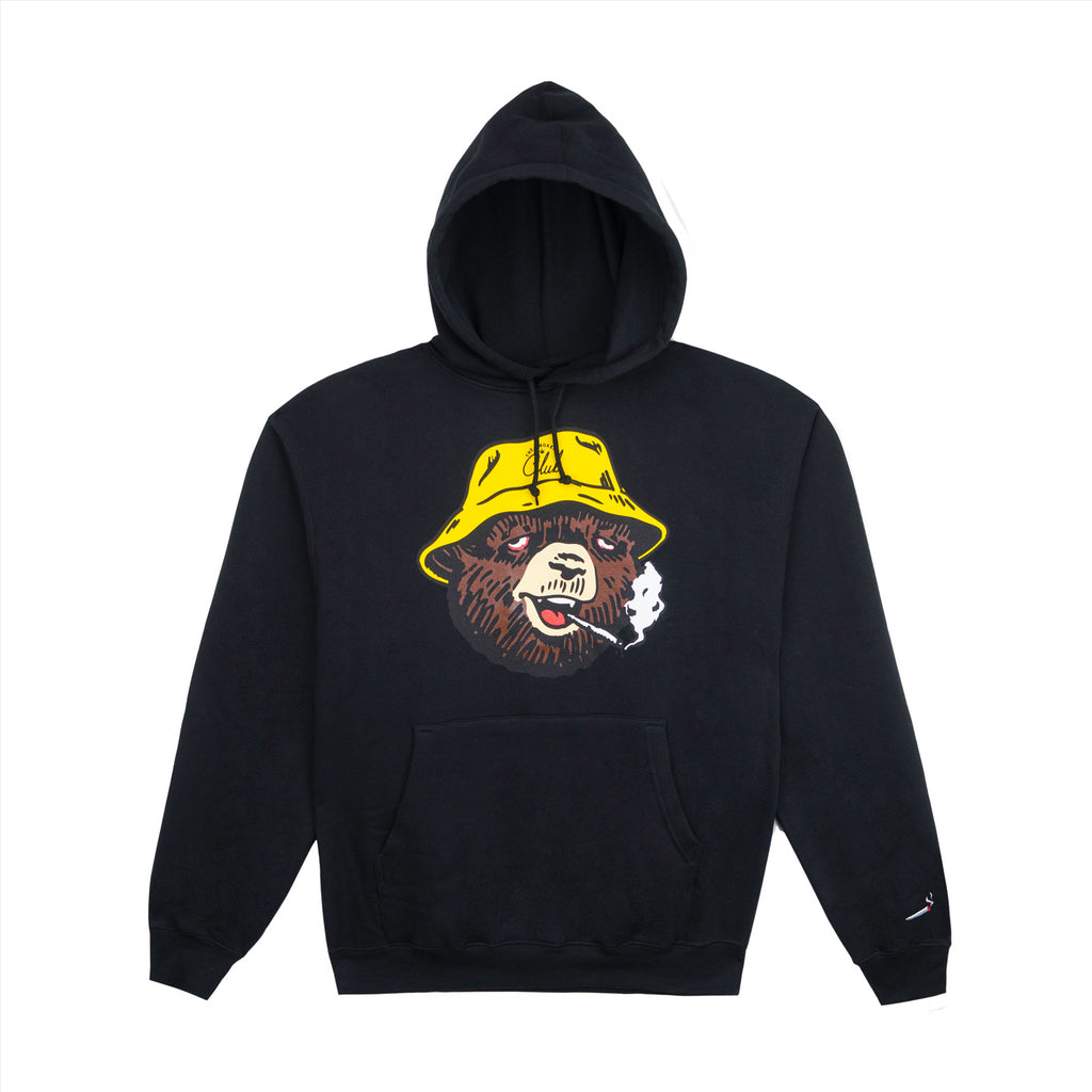 "The Smoker's Club Black ""Tokey Bear"" Hoodie"