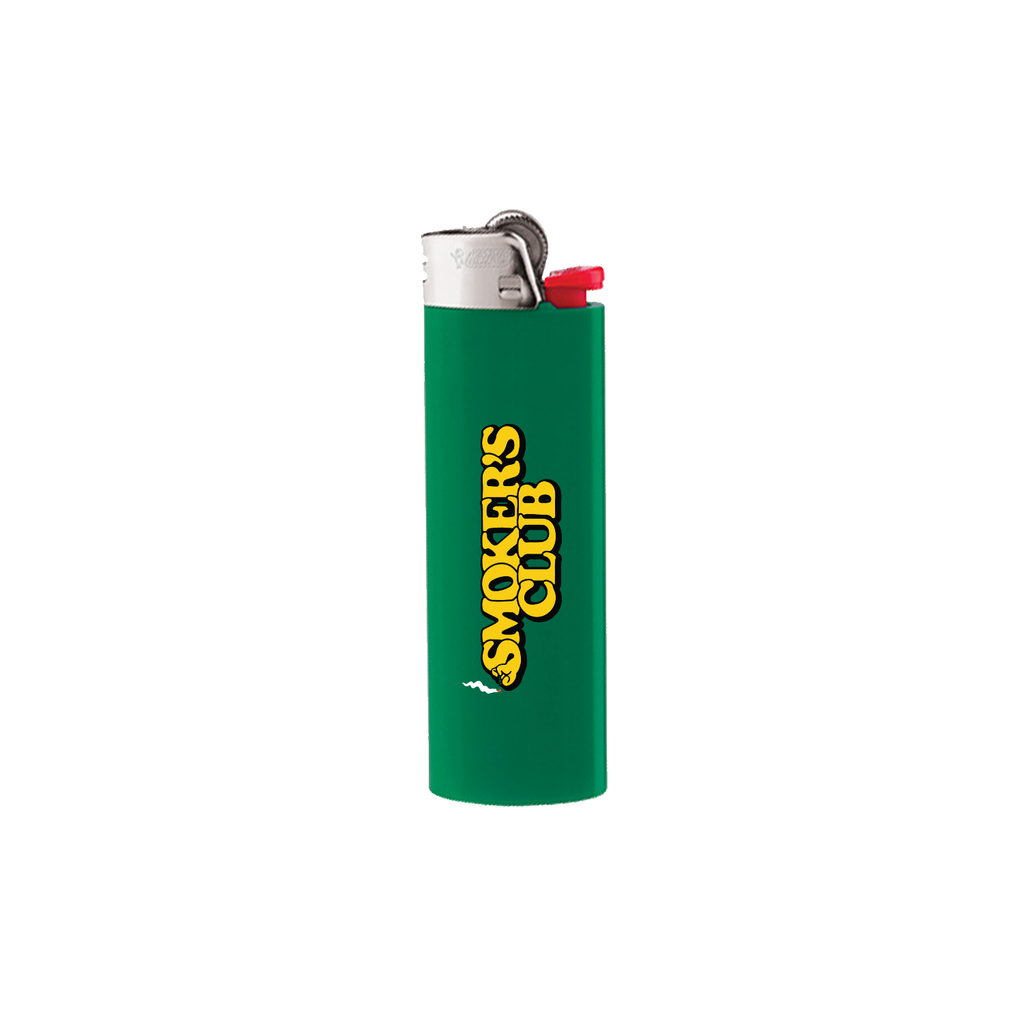 Green BIC Lighter