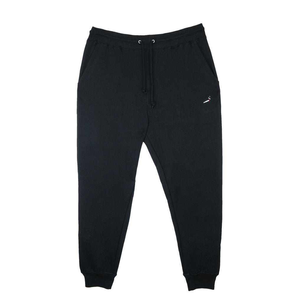 "The Smoker's Club Black ""Doobie"" Sweatpants"