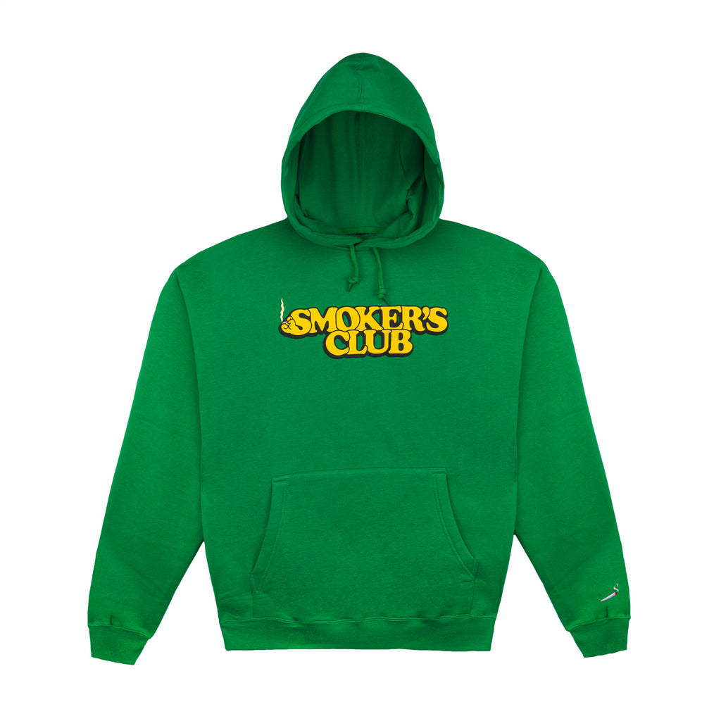 "Green ""One-Hit"" Smoker's Club Hoodie"