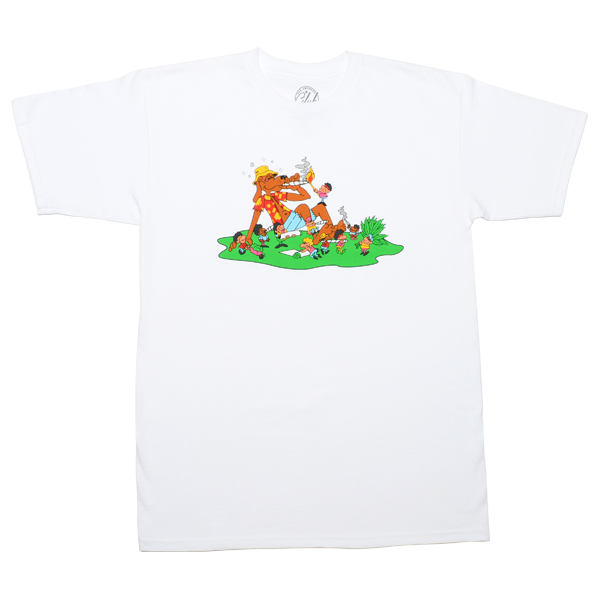 "White ""Best Buds"" T-Shirt"