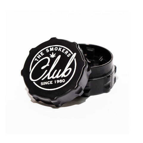 The Smoker's Club Black Grinder (Small)