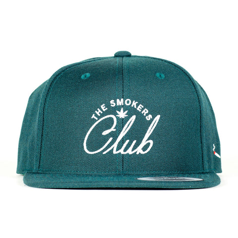 The Smoker's Club Logo Snapback (Green)