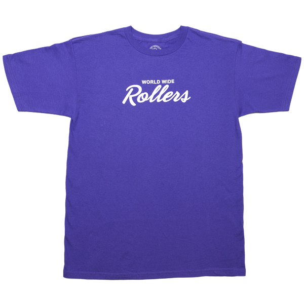 "Purple ""World Wide Rollers"""
