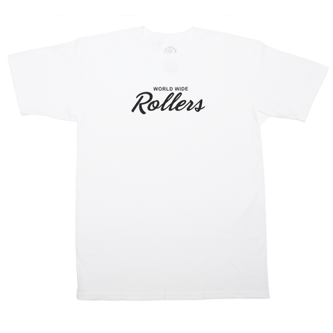 "White ""World Wide Rollers"""