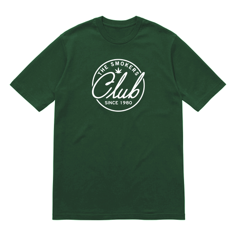 Green & White Logo T-shirt