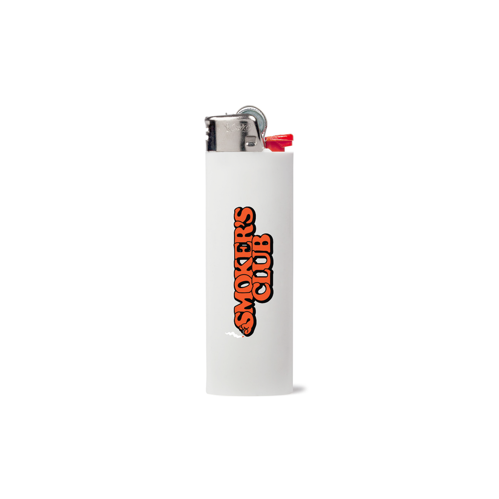 White BIC Lighter