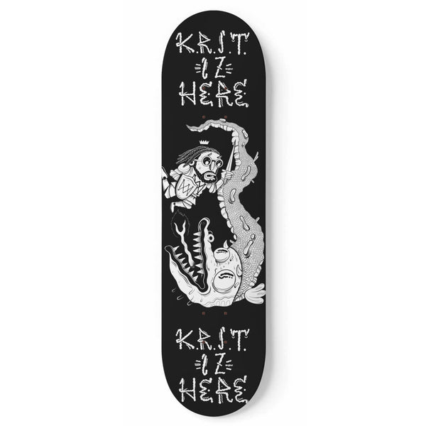 K.R.I.T. Iz Here Skate Deck + Digital Download