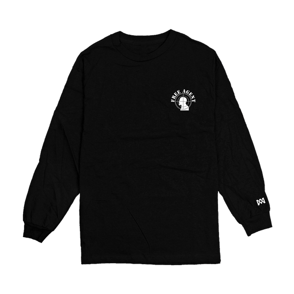 Free Agent Black Long Sleeve