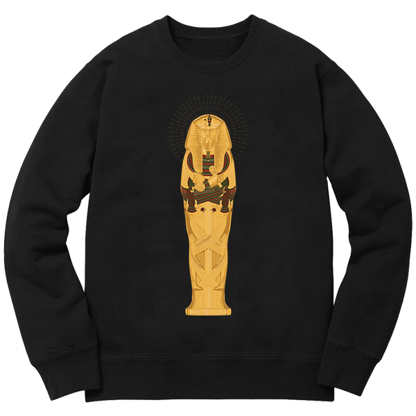 Bury Me In Gold Crewneck