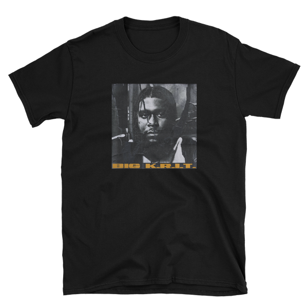 K.R.I.T. Iz Here Cover Tee + Digital Download