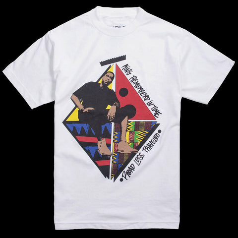 "Road Less Traveled ""King Remembered In Time"" Tee (White)"