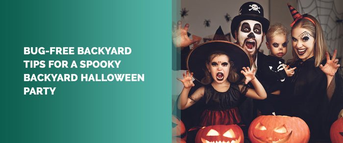 Bug-Free Backyard Tips For A Spooky Backyard Halloween Party