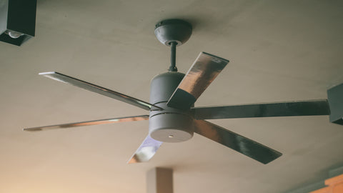 Use fans inside the house to resist mosquitoes