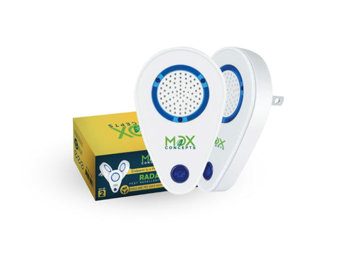 MDX Concepts ultrasonic pest repeller is eco-friendly and non-toxic for children and pets. This electronic pest control devices is easy to use and is effective against a wide range of pests.