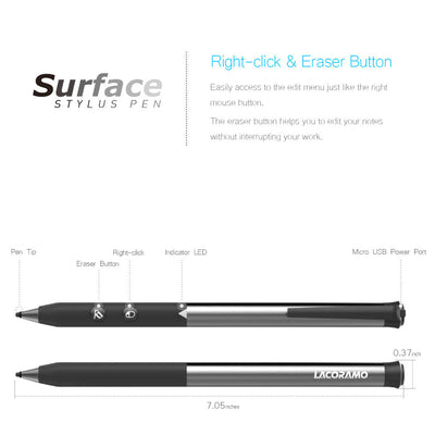 RAMO ART - Surface Stylus Pen - lacoramo