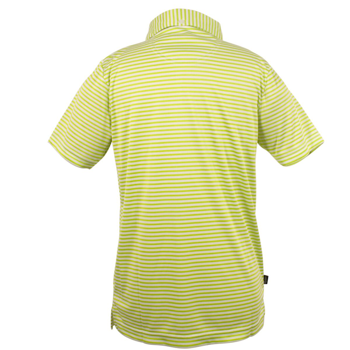 Chandler - Boys Lime Green Striped Polo