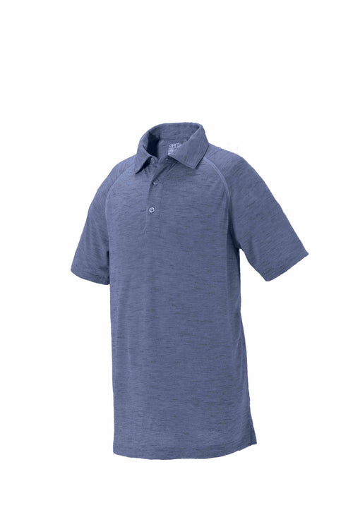 Dayton Youth Boy's Space-dye Golf Polo