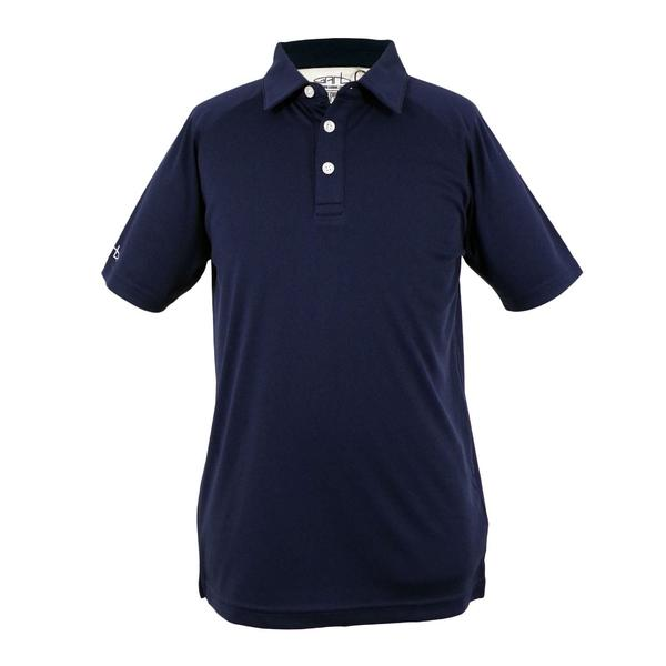 Ross - Youth Boy's Solid Golf Polo