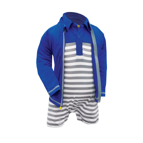 James - Infant Boys Full Zip Layering Jacket
