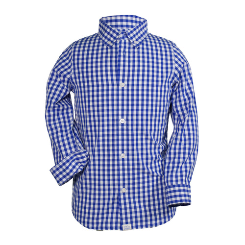 Logan - Toddler Boy's Golf Button Up Shirt