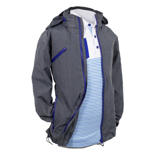 Myles - Boy's Golf Waterproof Rain Jacket