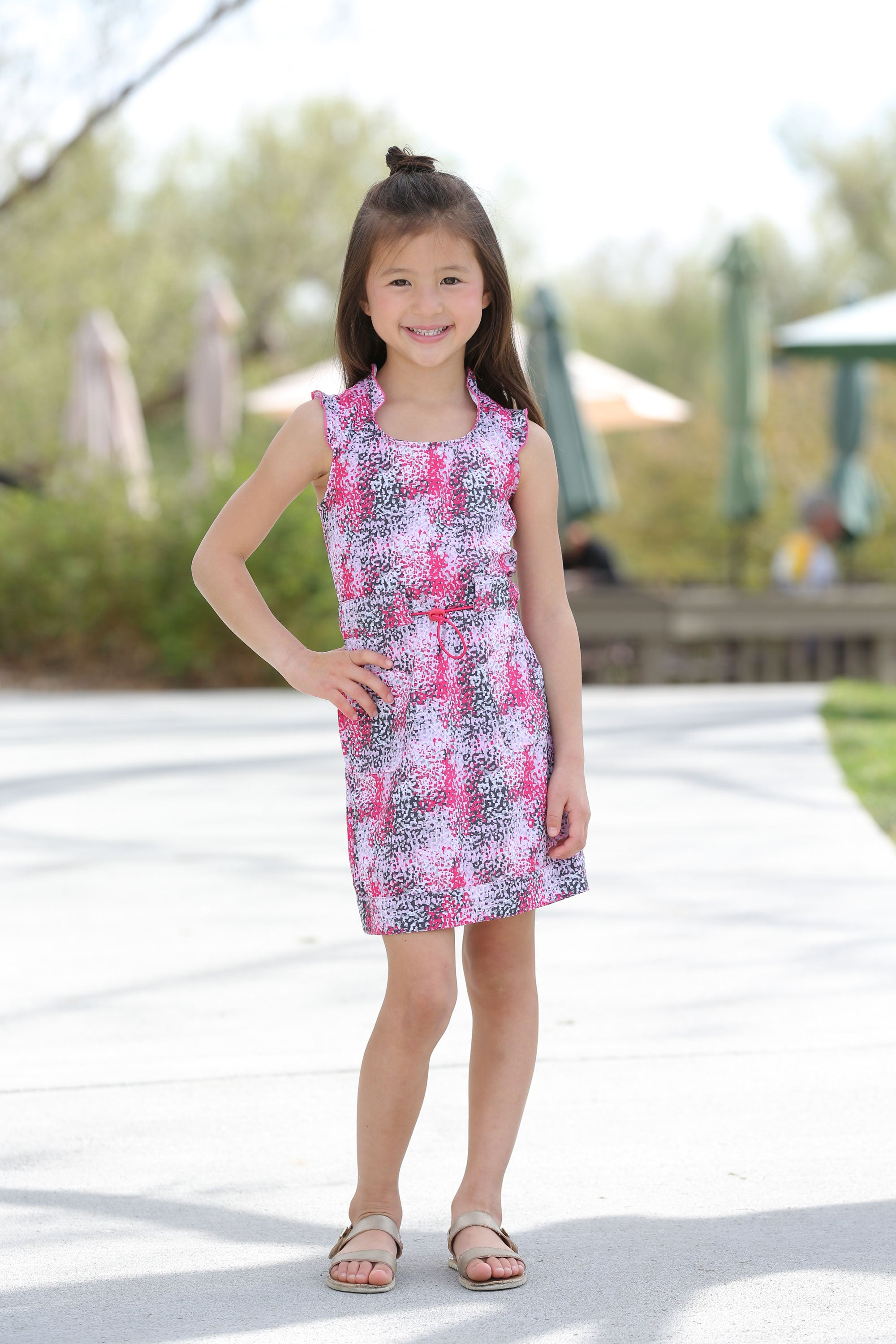 Olivia - Girls Performance Golf Dress