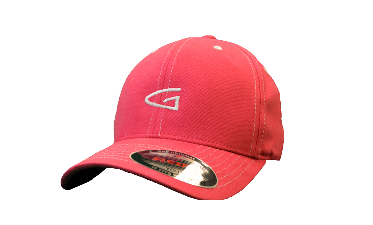Girls  Youth One Size Fits All Pink Fitted Adjustable Golf Hat by Garb b4567989df2