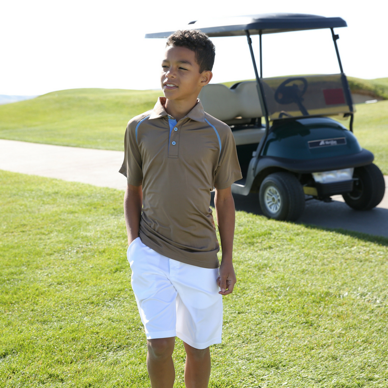 SCGA Zach - Boys Golf Shorts