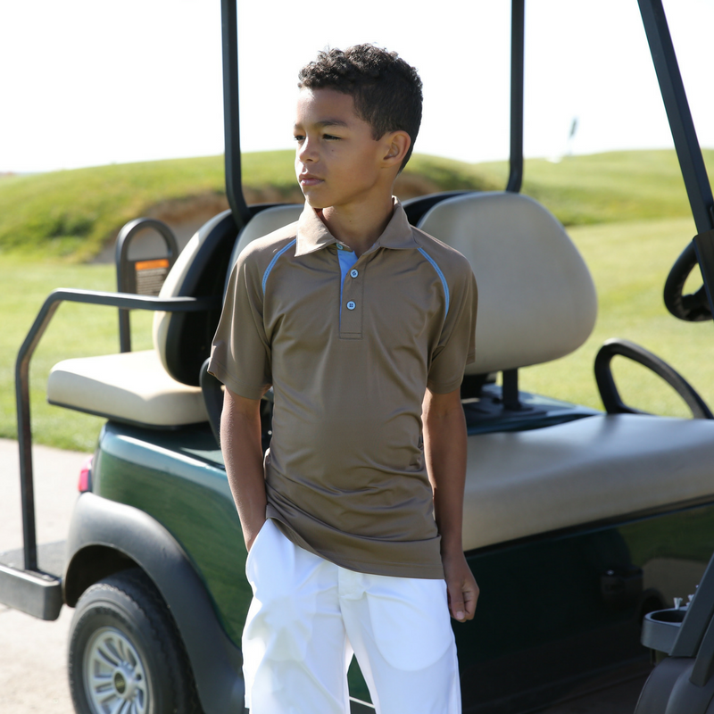 Lincoln - Boy's Golf Polo