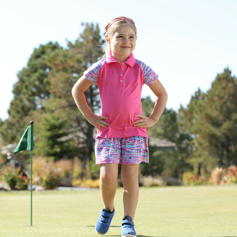 Tori - Girl's Golf Polo