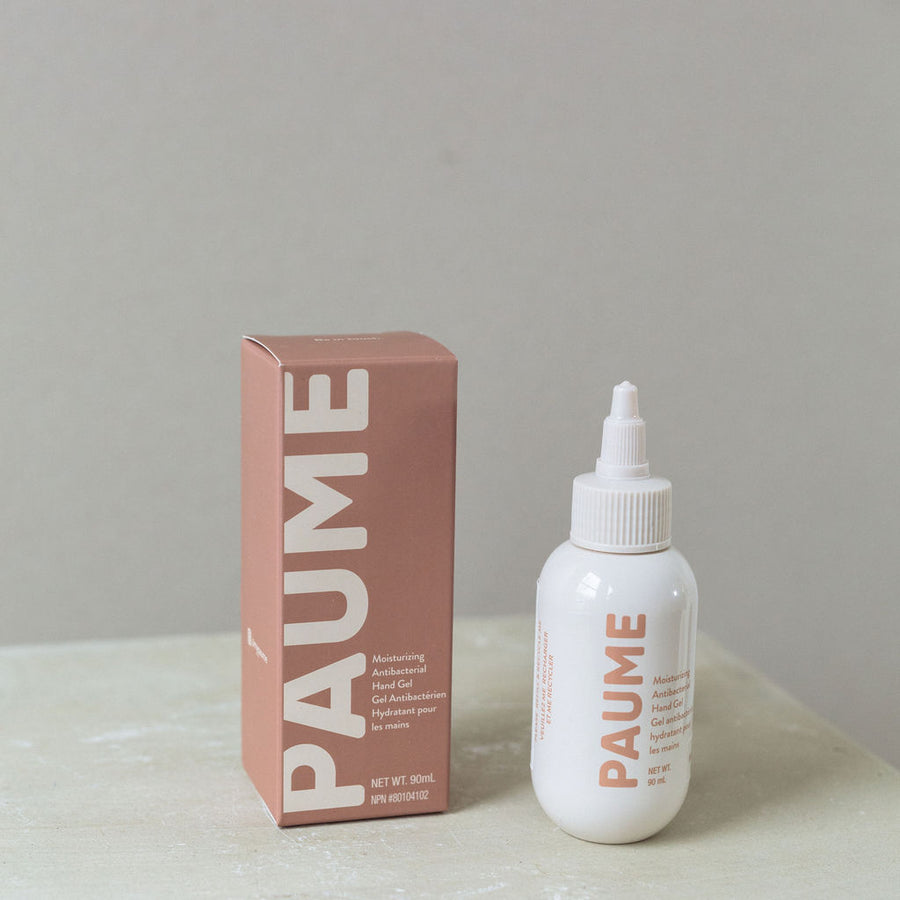 Paume travel sized hand sanitizer available at Rook & Rose.