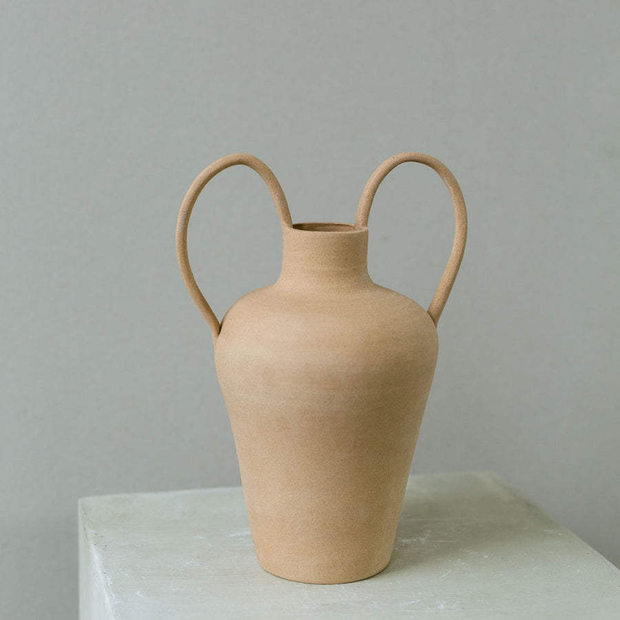 Caitlin Prince double handed Amphora vase available at Rook & Rose.