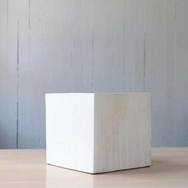 White haus cube planter available at Rook and Rose in Victoria, British Columbia, Canada