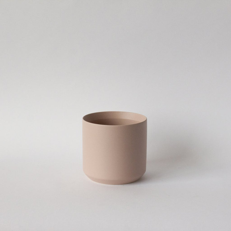 Matte blush pink Kendall pot available at Rook & Rose in Victoria, BC