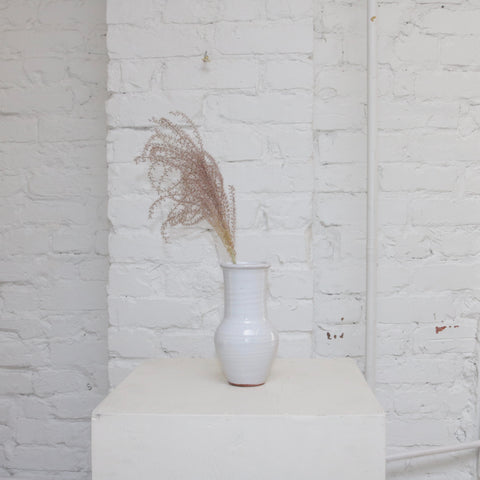 Nia glazed ceramic budvase available at Rook & Rose in Victoria, British Columbia, Canada