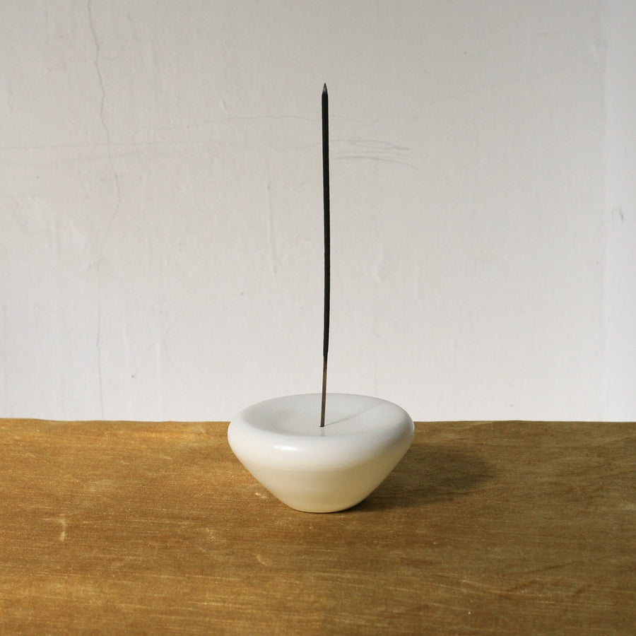 Rachel Saunders Kyoto Ceramic Incense Holder available at Rook and Rose in Victoria, British Columbia, Canada