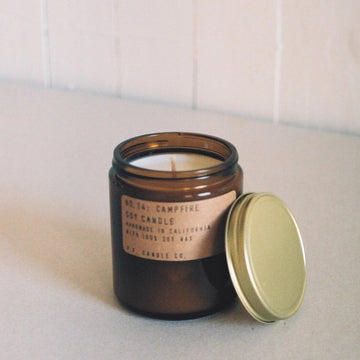 PF Candle Company Campfire Scented Candle available at Rook and Rose in Victoria, British Columbia, Canada