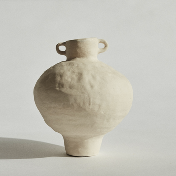 Marta Bonilla handmade ceramic amphora available at Rook & Rose.