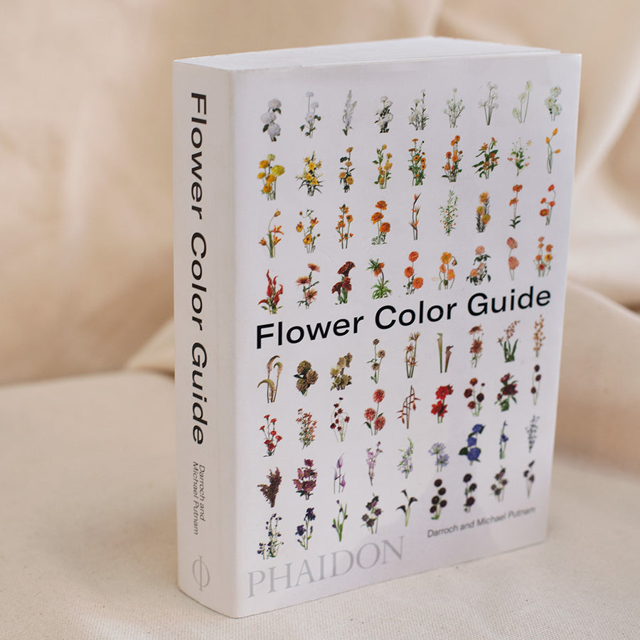 Flower colour guidebook available at Rook & Rose in Victoria, British Columbia, Canada
