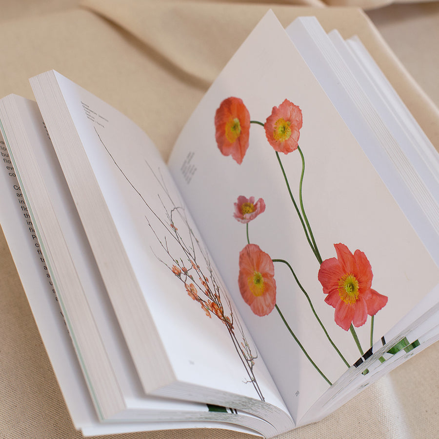 Open flower colour guidebook available at Rook & Rose in Victoria, British Columbia, Canada