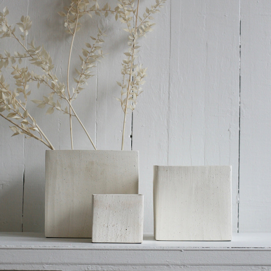 small haus cube pot available at Rook and Rose in Victoria, British Columbia, Canada