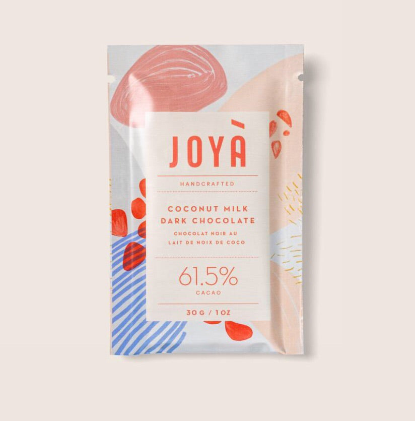 Joya coconut milk dark chocolate available at Rook & Rose.