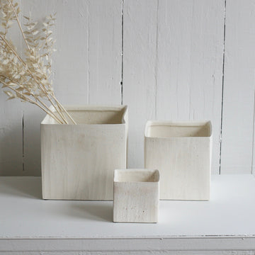 Medium haus cube pot available at Rook and Rose in Victoria, British Columbia, Canada